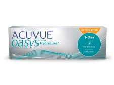 1-Day ACUVUE OASYS with HydraLuxe™ for Astigmatism 30 линз